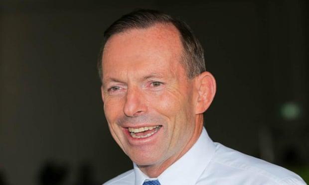 Tony Abbott speaking to media in Darwin.
