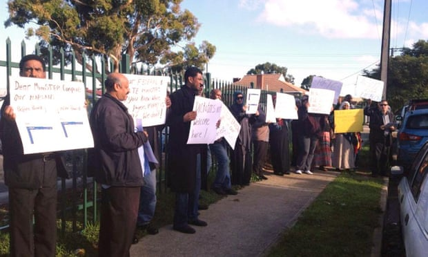 Islamic College of South Australia protest