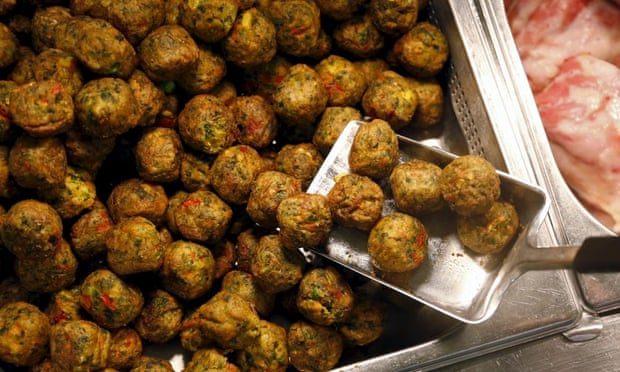Veggie meatballs: a healthier option, but not for me.