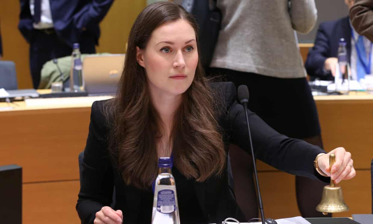 Sanna Marin, 34, has been selected to be the new prime minister of Finland. Photograph: Anadolu Agency/Getty Images