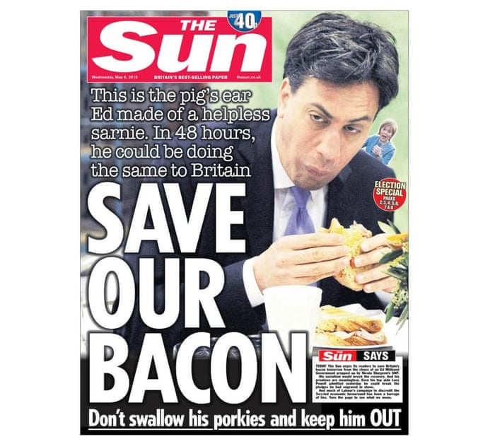 Today's front page from The Sun