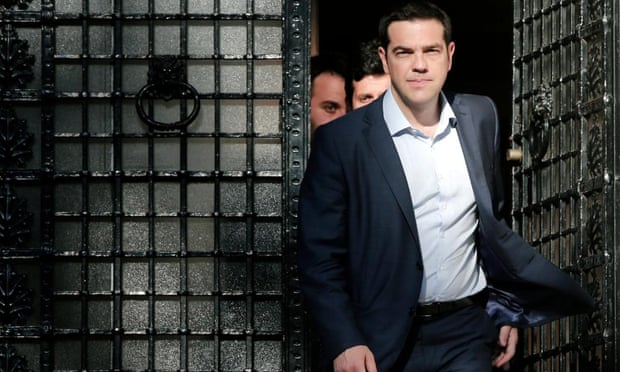 Alexis Tsipras, the Greek prime minister,