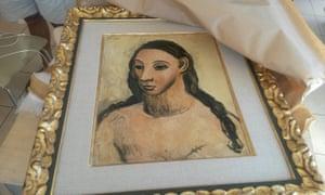 الحكومة الاسبانية تحظر لوحة لبيكاسو قيمتها 25 مليون يورو