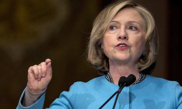 Hillary Clinton in 2014. A spokesman for Clinton told the Times that Clinton was complying with the 'letter and spirit of the rules'.