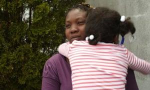 Berenice, Honduran immigrant, Dilley detention center, Texas