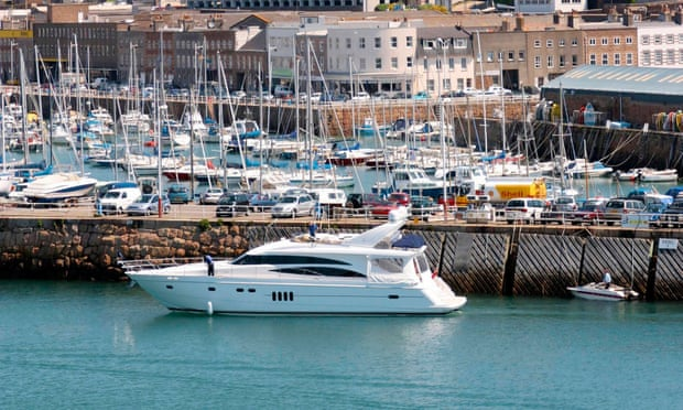 'Tax havens trade on the integrity of the UK while having different legal and regulatory arrangements for the rich.' St Helier Harbour, Jersey. Photograph: Stuart Abraham/Alamy