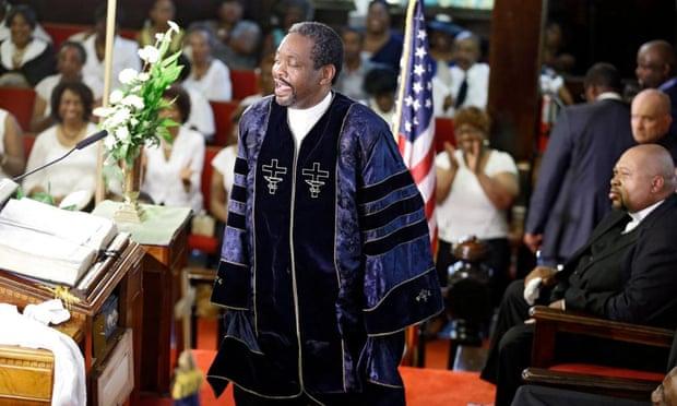 Charleston church reopens