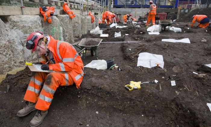 1665 excavations