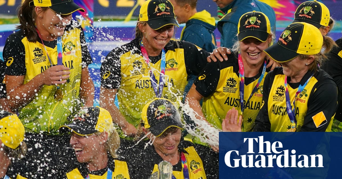 Australia's women's T20 World Cup-winning cricket team win The Don Award | Cricket