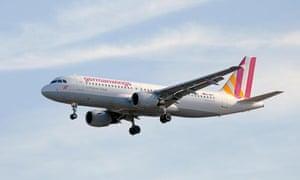 Germanwings A320 plane