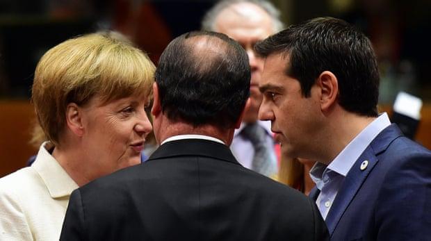 Меркел и Ципрас