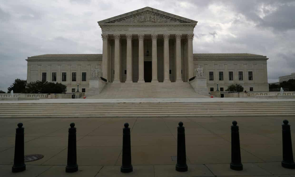 'This case stands on a very different footing from the one that a conservative 5-4 supreme court rejected on September 1 on procedural grounds.' Photograph: Tom Brenner/Reuters