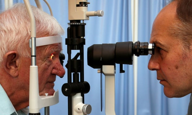 British pensioner first to have central vision restored through bionic eye