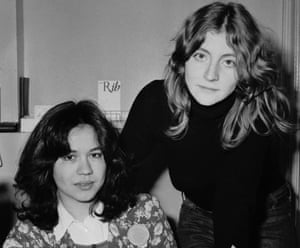 Marsha Rowe (left) and Rosie Boycott, founders of the magazine.