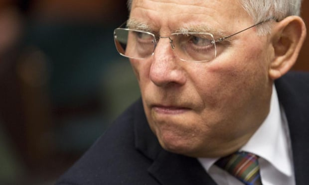 German Finance Minister Wolfgang Schaeuble is not impressed with the proposals tabled by Greece