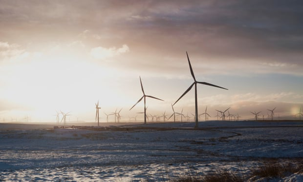 Onshore wind and large scale solar farms are expected to come to cost parity with gas-fired power stations by the 2020s. (Photograph: Armando Ferrari/Getty Images/Cultura RF)