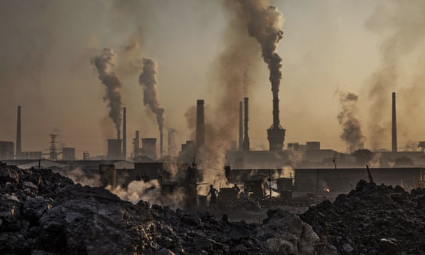Many cities, particularly those in Asia, are still powered by antiquated subcritical coal-fired power plants. Photograph: Kevin Frayer/Getty Images