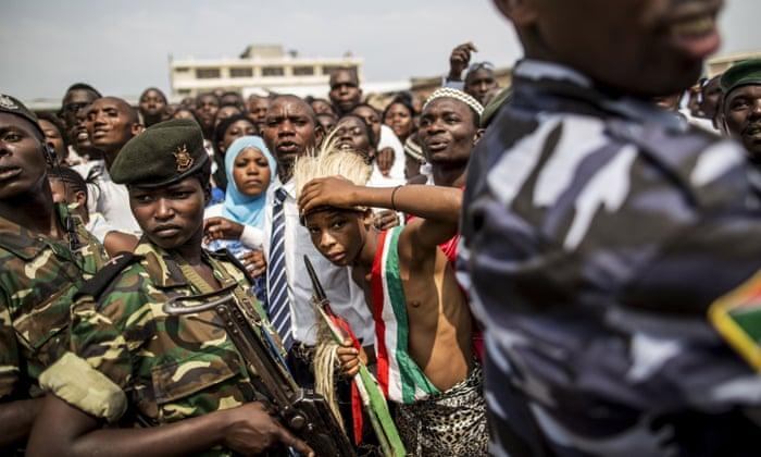 Dozens of people have died in protests in Burundi in recent months ... a young Intore dancer during 53rd independence day celebrations in Bujumbura on 1 July 2015.