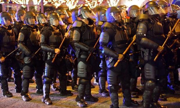 Ferguson solidarity protests in Atlanta
