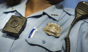 Body cameras, such as this model worn by a Washington DC police officer are due to become more widespread as a result of a $20m pilot program to help equip law enforcement agencies across the country.
