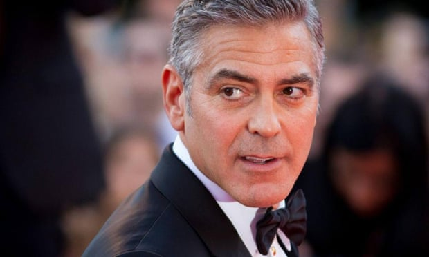 George Clooney, who has reacted angrily to the terrorist threats surrounding The Interview.