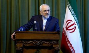 伊朗外交部长穆罕默德贾瓦德扎里夫。核心会谈定于周五在维也纳举行。