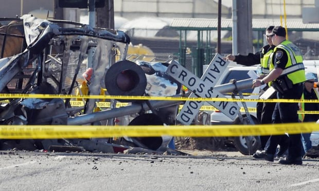 metrolink train crash