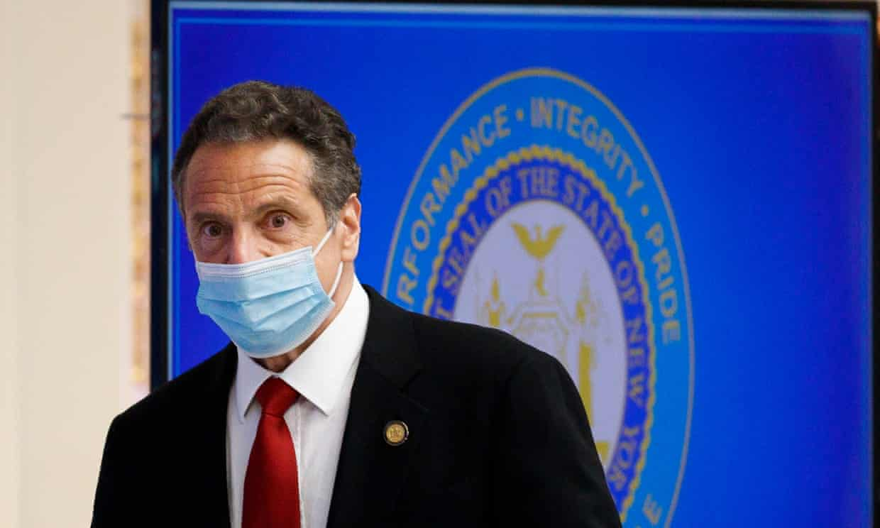 'Cuomo's administration said the new immunity provision is necessary.' Photograph: Justin Lane/EPA