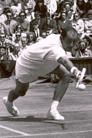 Hewitt at Wimbledon during his playing days.