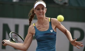 Olivia Rogowska became the first Australian to be eliminated from this year's French Open.
