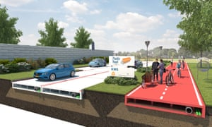 Plans unveiled for recycled plastic roads are being considered by Rotterdam city council.
