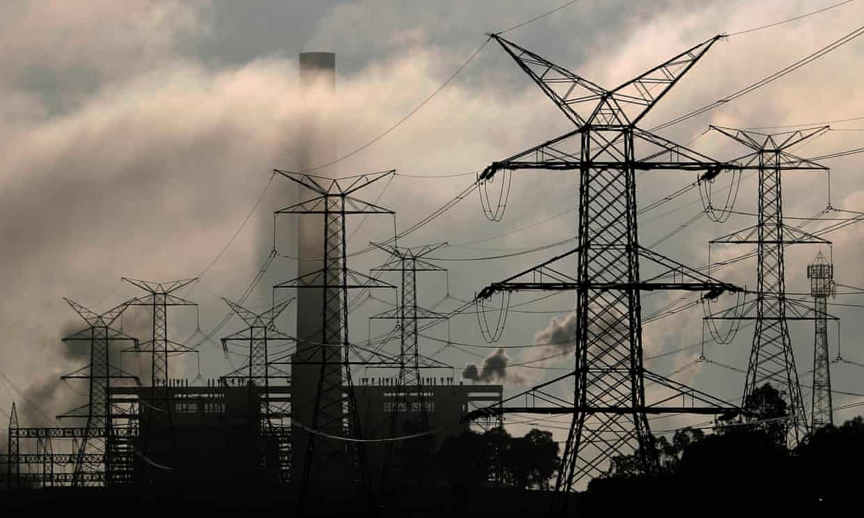Under the Energy Estate consortium's proposal, green hydrogen would be piped to near the Liddell coal plant in the NSW Hunter Valley, which is to close in 2023. Photograph: Tim Wimborne/Reuters