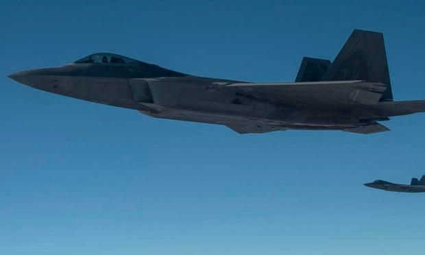 US air force raptors