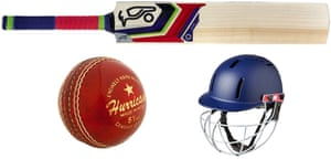 Kookaburra Instinct 500 Cricket Bat,£157.95,cricketdirect.co.uk。 Gray-Nicolls Hurricane2018线上博彩娱乐排行,£8.79,amazon.co.uk。 Gunn&Moore Purist Geo Cricket Helmet,£34.99,owzat-cricket.co.uk。