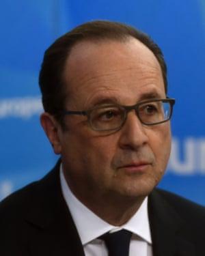 France's President François Hollande
