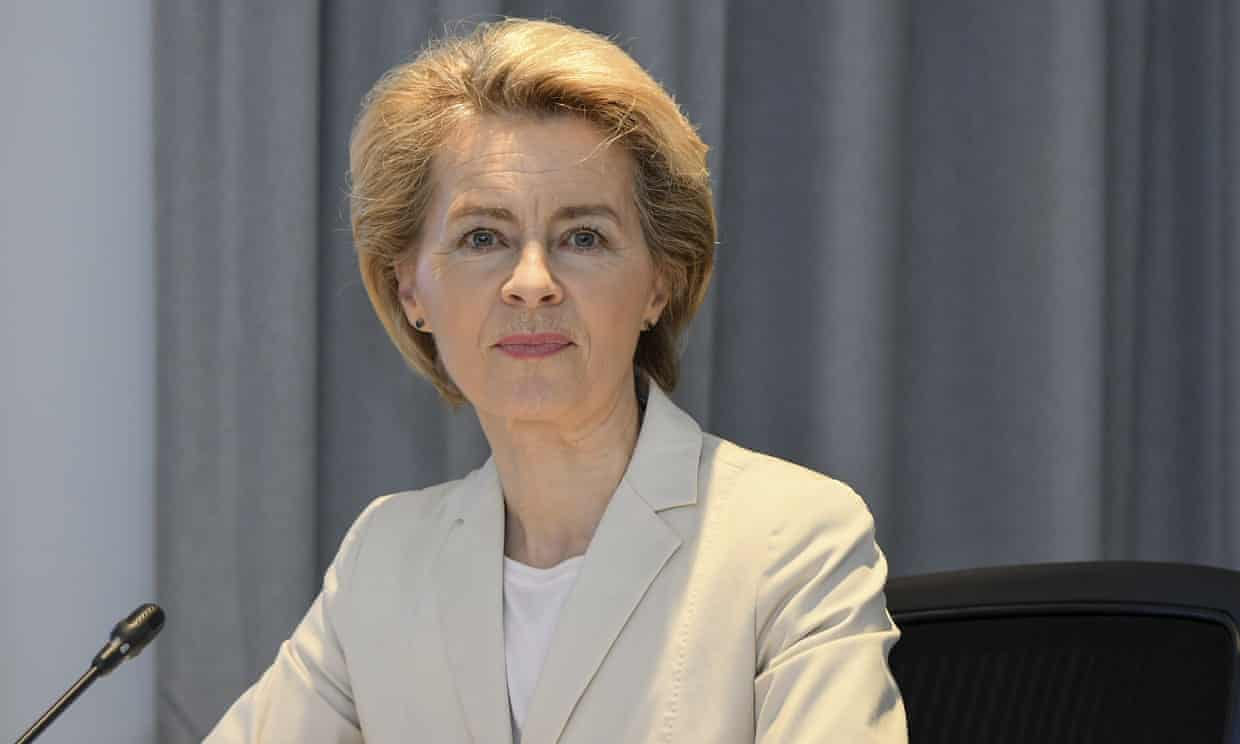 The European green new deal is set to be unveiled on Wednesday by Ursula von der Leyen, the president of the European commission. Photograph: AP