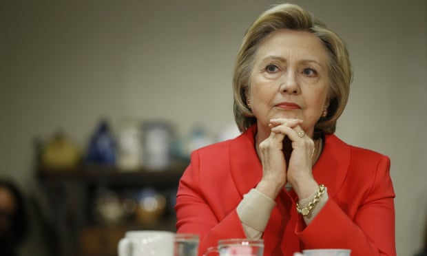 Eight days after stepping down as secretary of state in 2013, Hillary Clinton set up ZFS Holdings at CTC's offices in Wilmington. A spokesman said it was to manage her book and speaking income. Photograph: Matt Rourke/AP