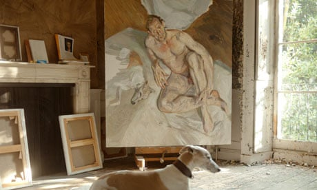 Lucian Freud Dog in Front of Lucian Freud 39 s