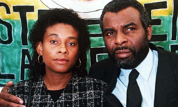 Doreen and Neville Lawrence, parents of the murdered teenager Stephen, in 1995. - Doreen-and-Neville-Lawren-011