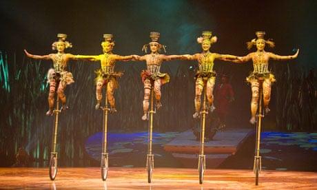 Cirque du Soleil | Stage | The Guardian