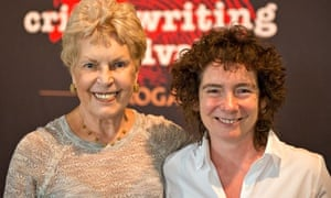 Ruth Rendell (left) and Jeanette Winterson.