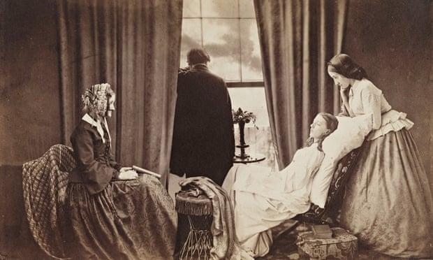Henry Peach Robinson's <em>Fading Away</em>, 1858.