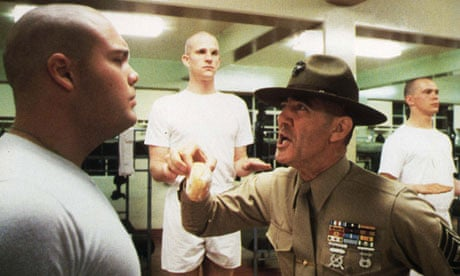 Full Metal Jacket: one way to get discipline in your classroom after the holidays!