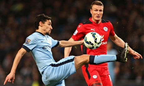Manchester City\'s David Silva pieces together victory over Leicester...
