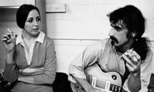 Pauline Butcher with Frank Zappa