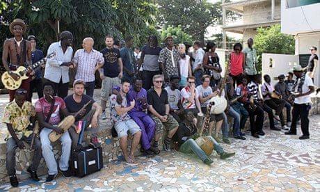 Africa Express at Maison des Jeunes, Bamako, Mali