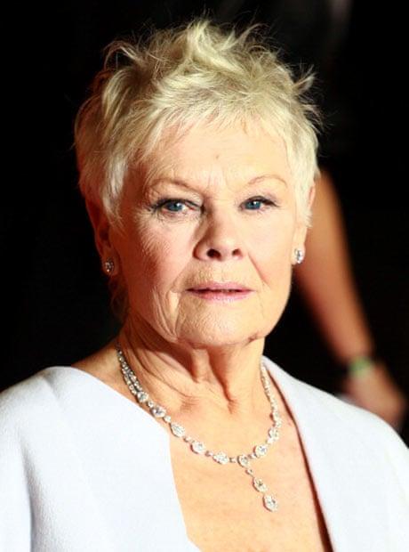 Dame Judi Dench Hair