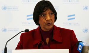 Navi Pillay said anyone who breaks international laws on treatment of prisoners will face punishment