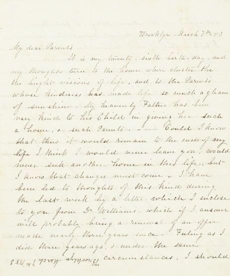 letter to sarah ballou