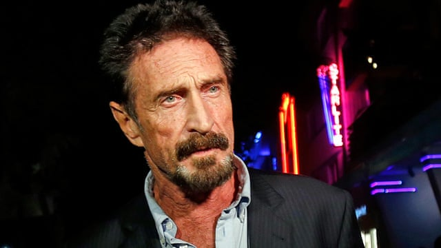 John McAfee in US after deportation from Guatemala - video - John-McAfee-speaks-to-rep-005